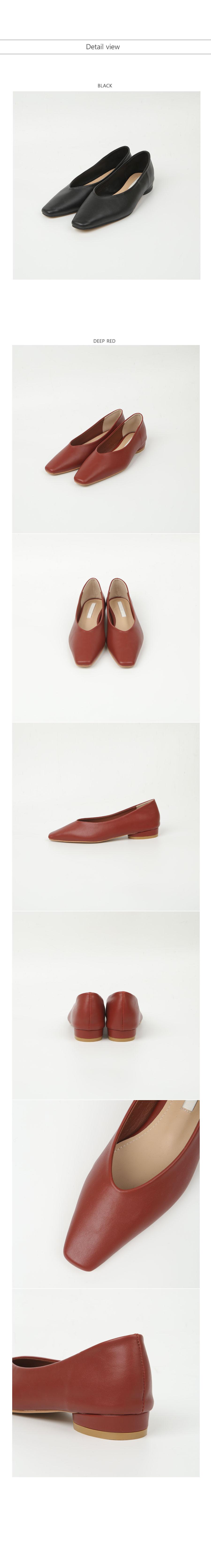 slim line flat shoes