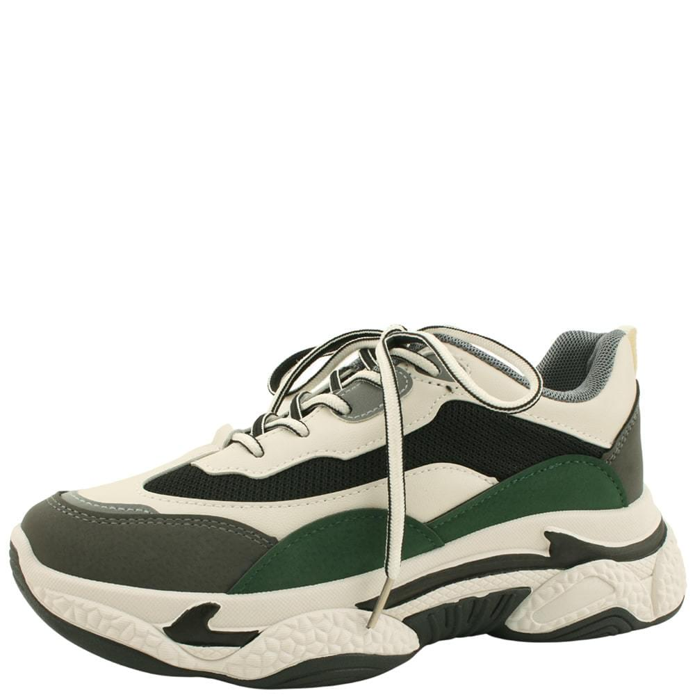 Mash Combi Sporty Ugly Shoes Green