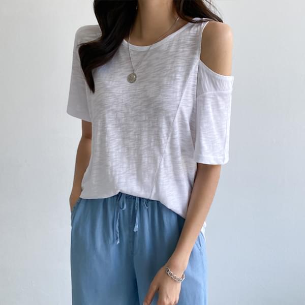 Natural Fit Shoulder T-Shirt #109025