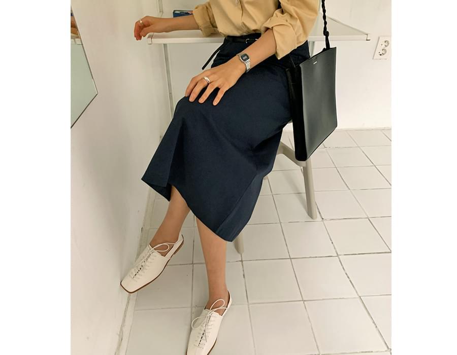 Monet belt set long skirt
