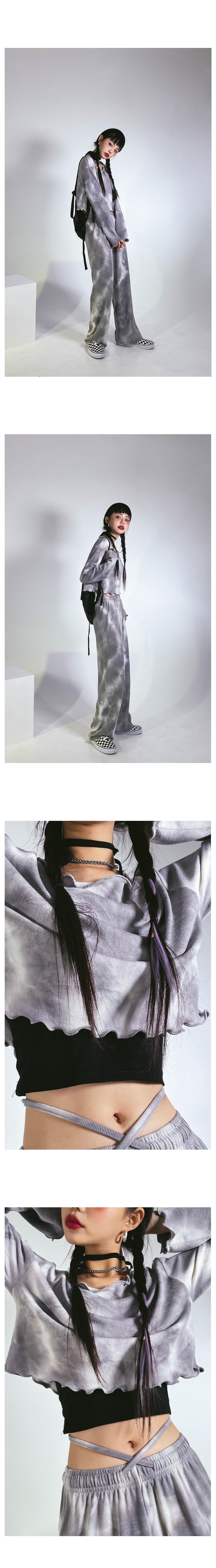 タイダイフレッシュセット - クロップTシャツ