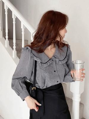 darling collar blouse