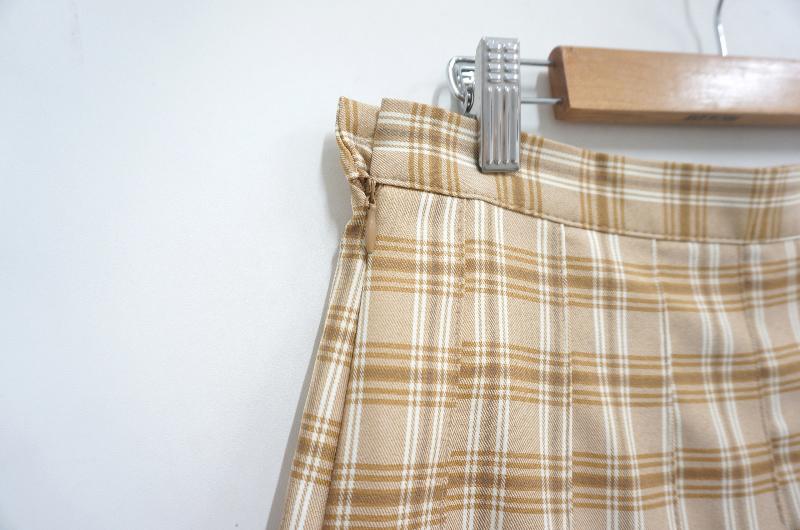 Rudy Check Tennis Skirt