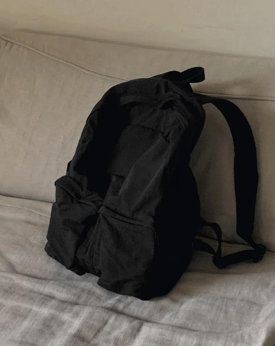 Cozy Nylon Backpack - 2 color