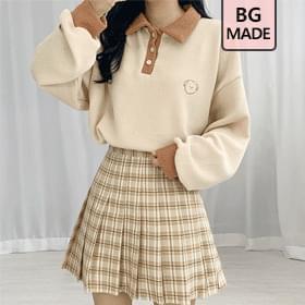 Puppy collar Sweatshirt scheme pongsil