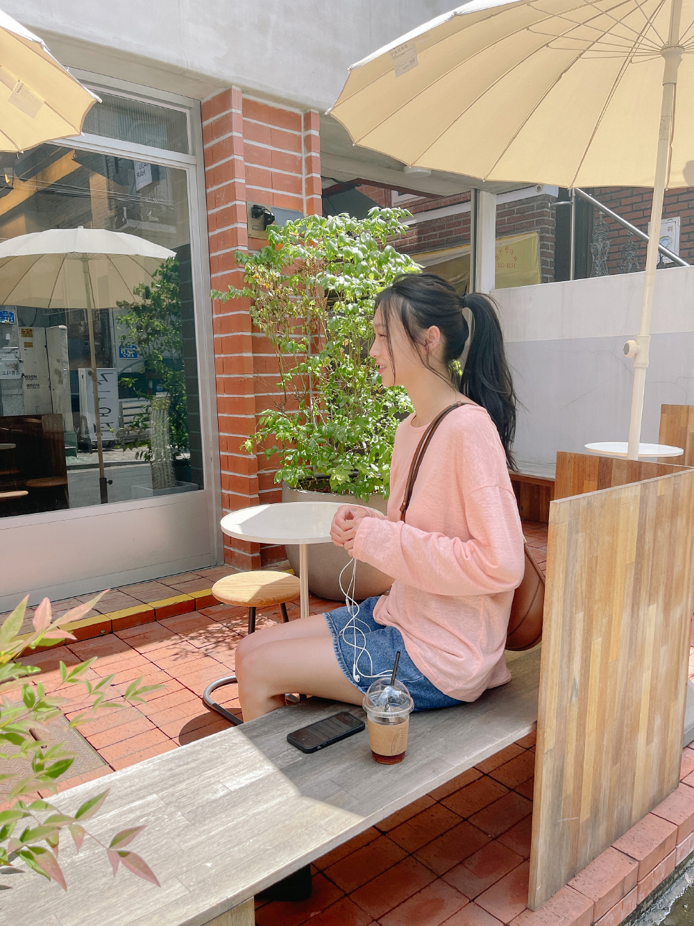 Blooming Loose-fit Linen Tea