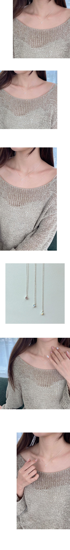 dew stone necklace