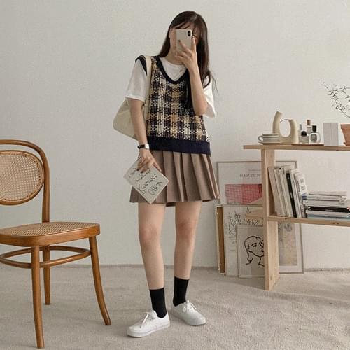 Marlet Waffle Knitwear Vest