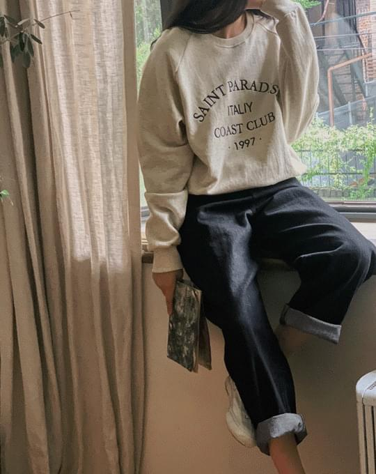 Fate Embroidery Lettering Sweatshirt - 3 color