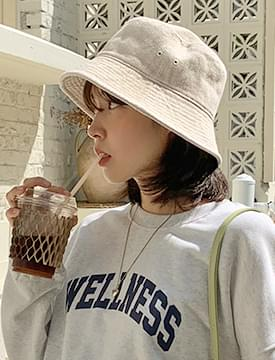 Vintage Faded Cotton Bucket Hat