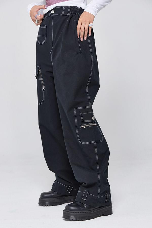 One Sure Wide Cargo Pants