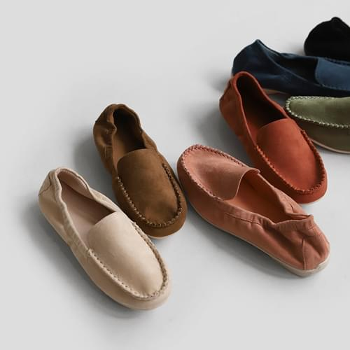 Rossili suede loafers