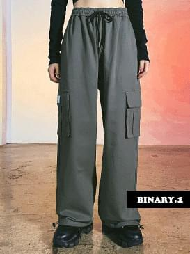 Unisex Jogger Ribbed Cargo Pants