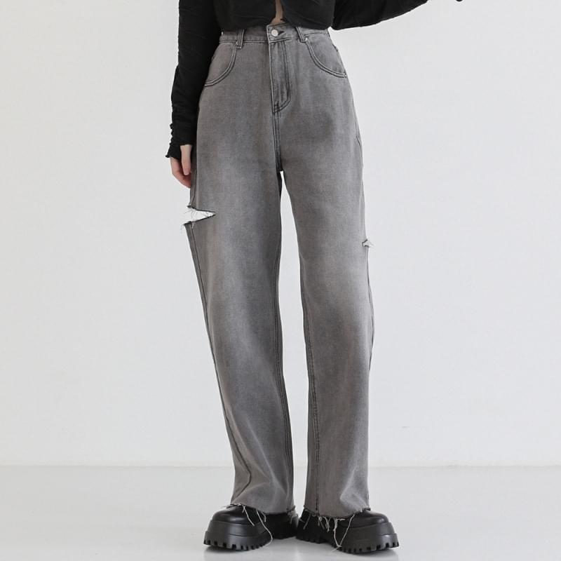 Rhythm Damage Wide Denim Pants