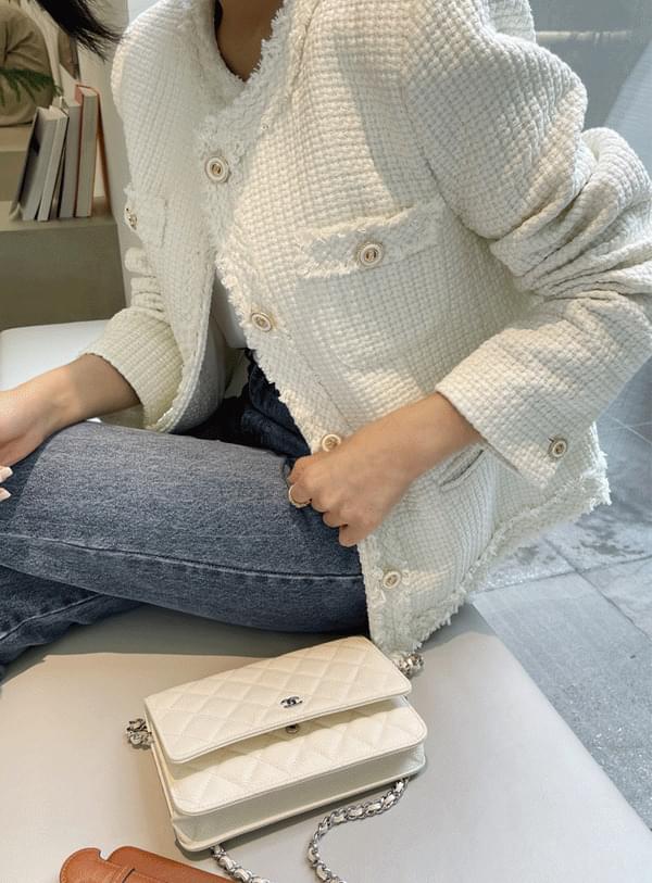 모나 트위드 자켓 (*3color)