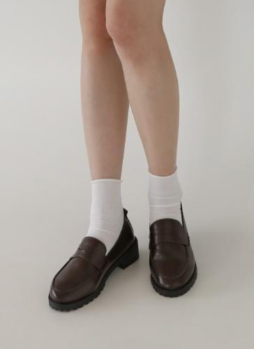 Jeffrey semi-gloss penny loafers LFLTS3d202