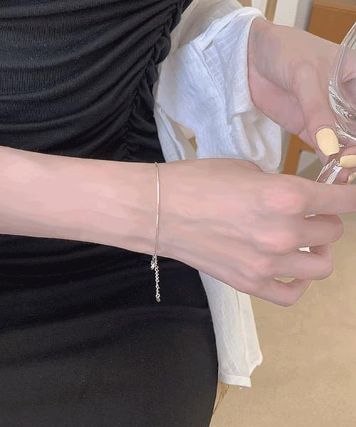 Winner's Simple Daily 925 Silver Thread Bracelet