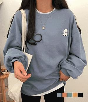 Fluffy albino loose - Loose-fit Sweatshirt