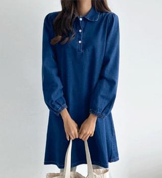 Girl Denim Dress #38065
