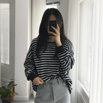 apollo Striped Sweatshirt t