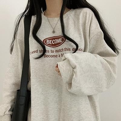 Loose-fit Fit Become Sweatshirt