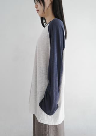 raglan long sleeve top