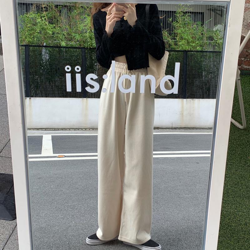 pt5645 odd wide banding pants
