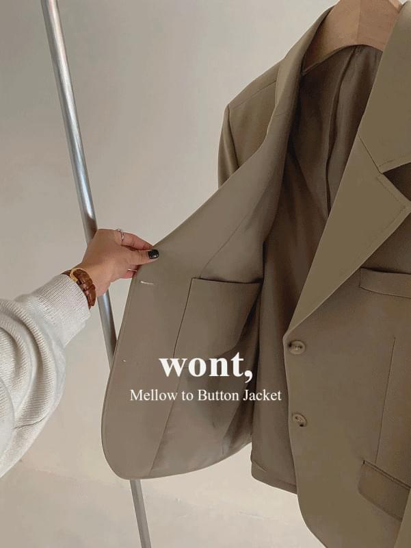 Mellow Two-button Jacket