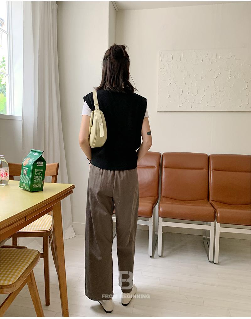 Half Moon Flap Leather Shoulder Bag
