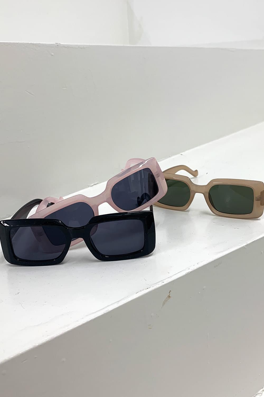 full square sunglasses 眼鏡