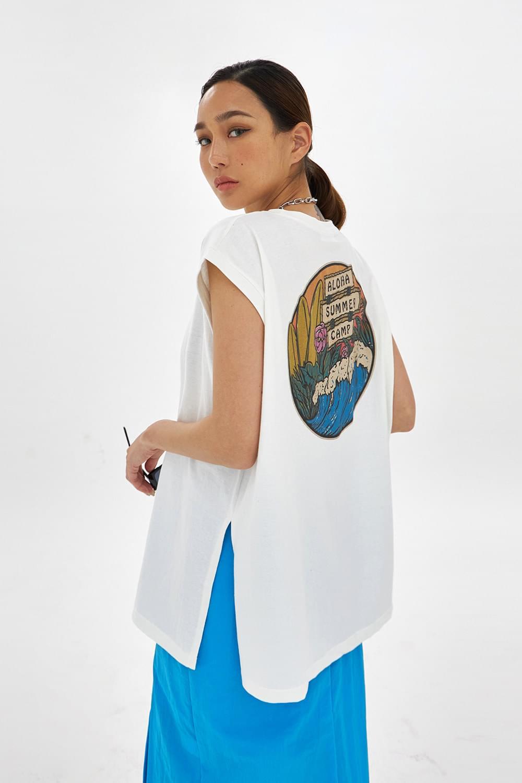 Aloha Bag Print Sleeveless 無袖