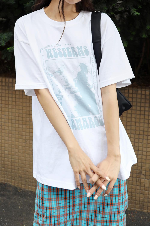Horse cotton T-shirt 短袖上衣