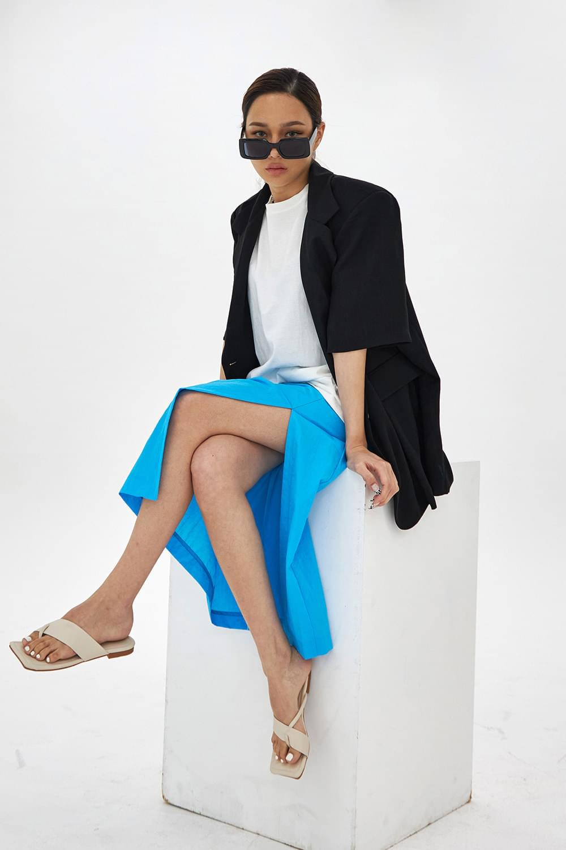 H line slit skirt 裙子