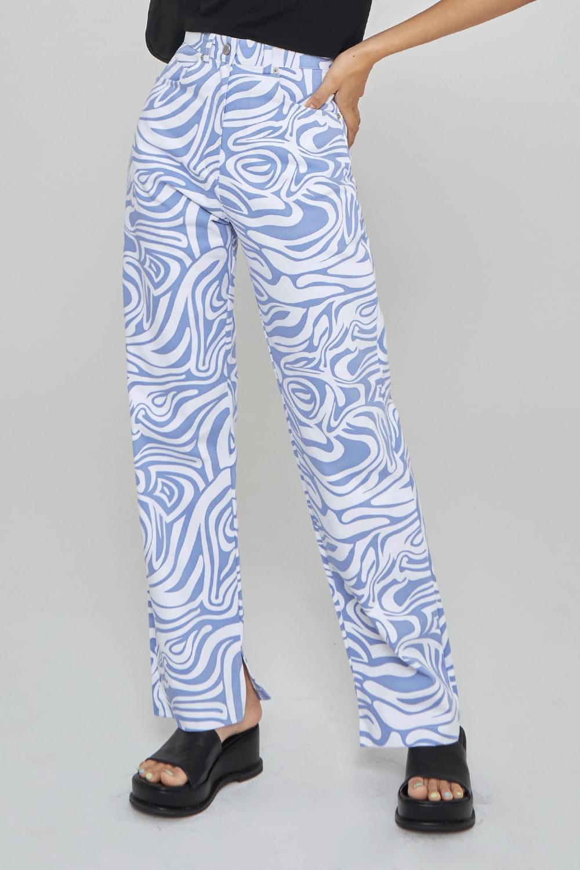 wavy cotton trousers 長褲