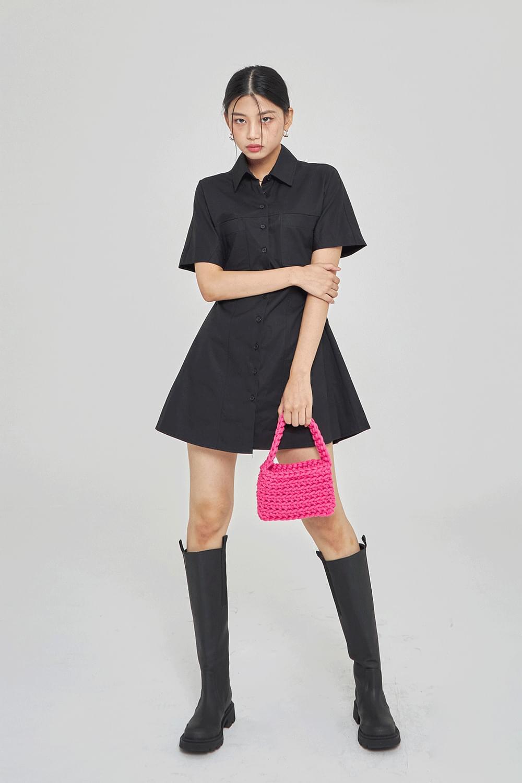 stitch mini Dress