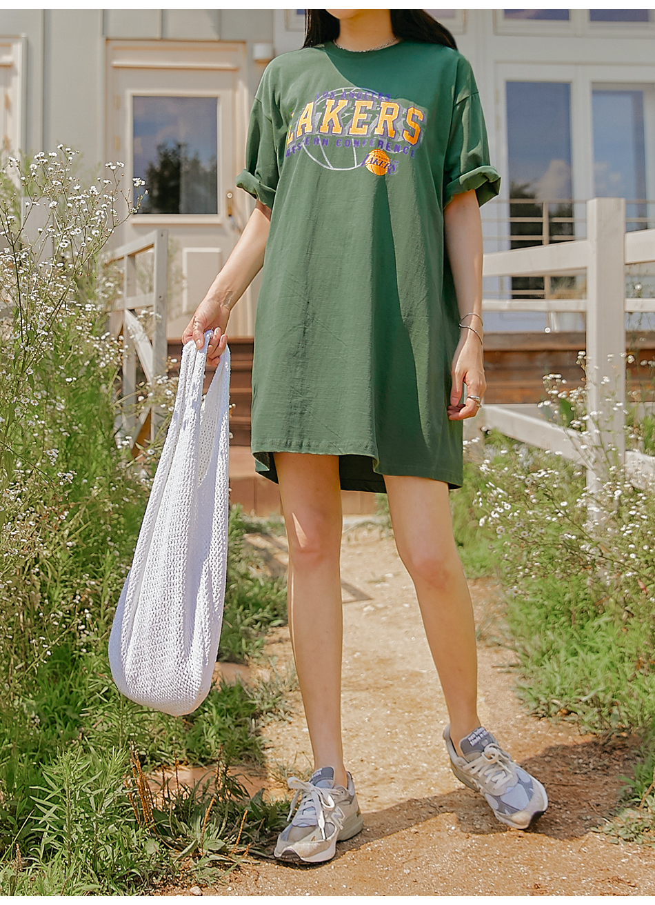 Graphic Print T-Shirt Dress