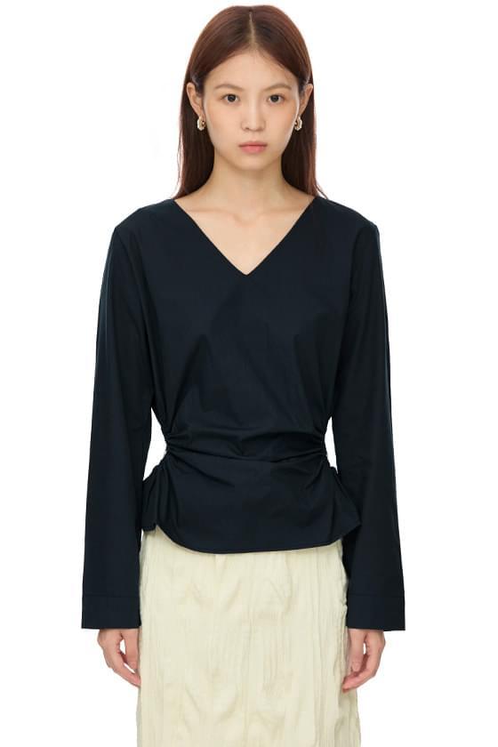 mine shirring blouse