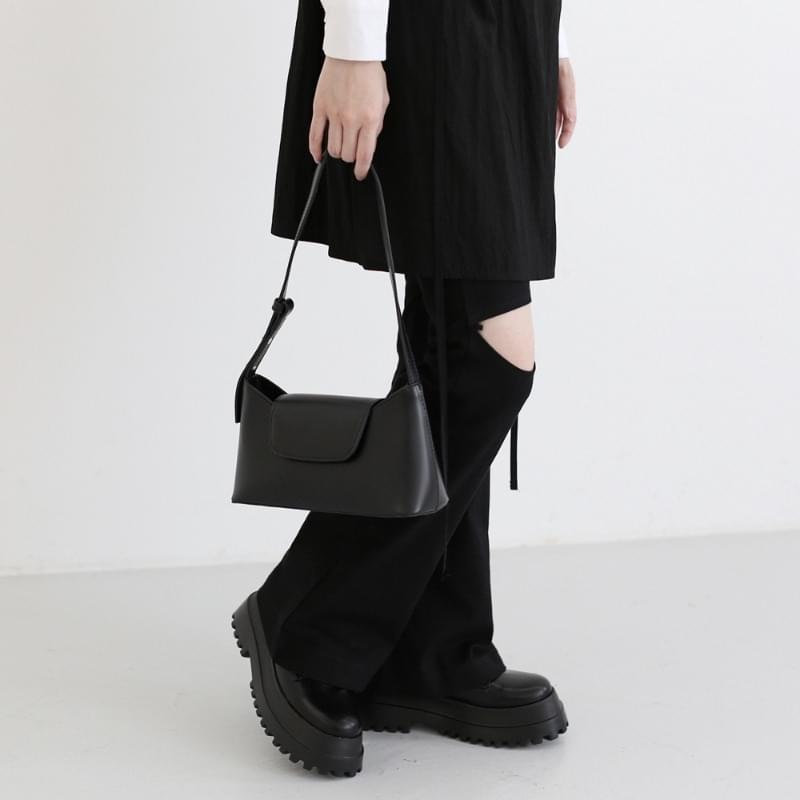mosque leather shoulder bag