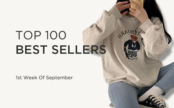 TOP 100 BEST SELLERS - 1st Week Of September