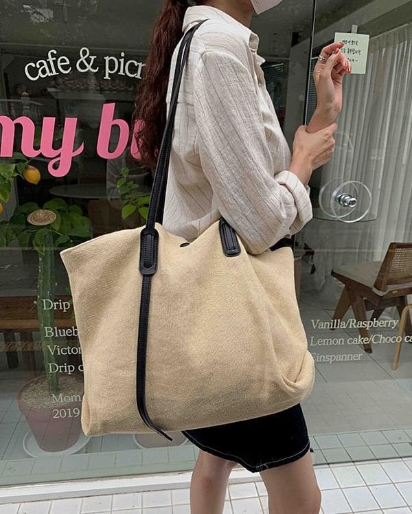 Woody Linen Shoulder Bag