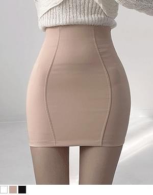 scar line slim skirt