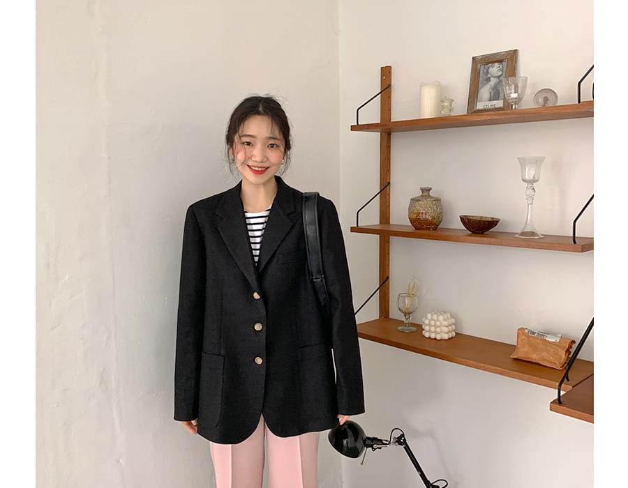 Modern linen jacket