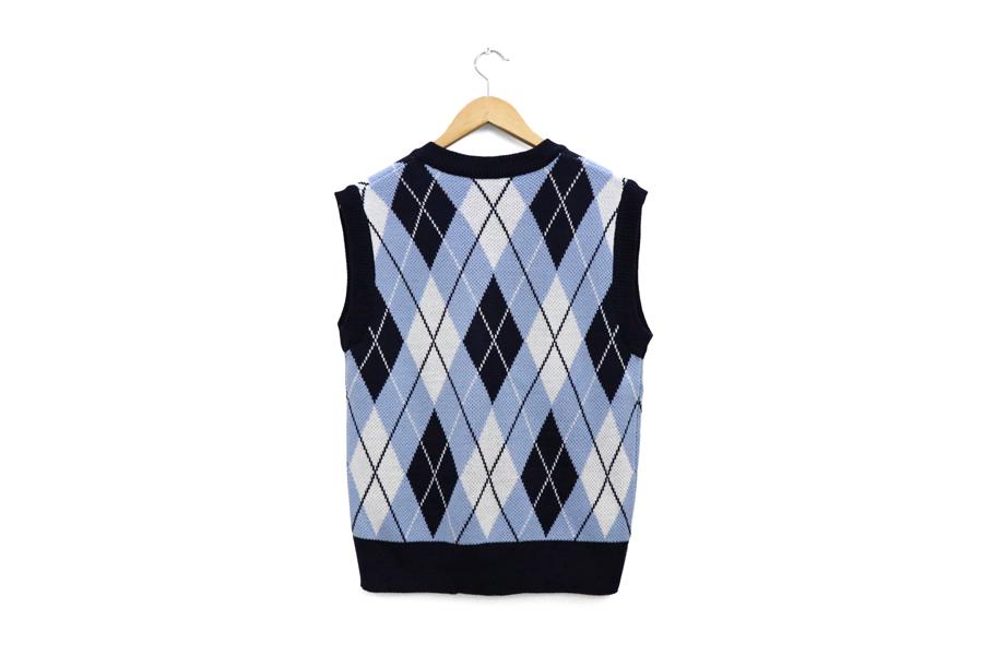 Seventeen Argyle vest