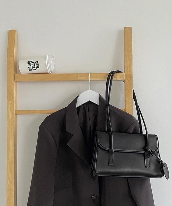 rail square shoulder bag
