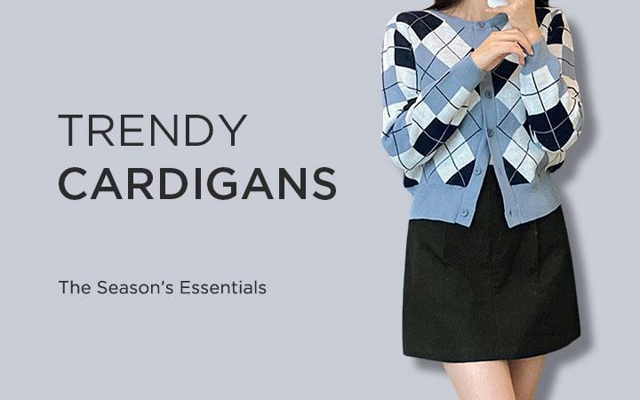 Trendy Cardigans