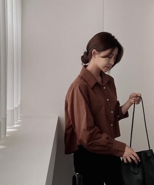Monello Back Pleated Shirt - 3color