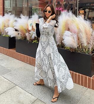 Yeori Yeori Paisley Dress #38078