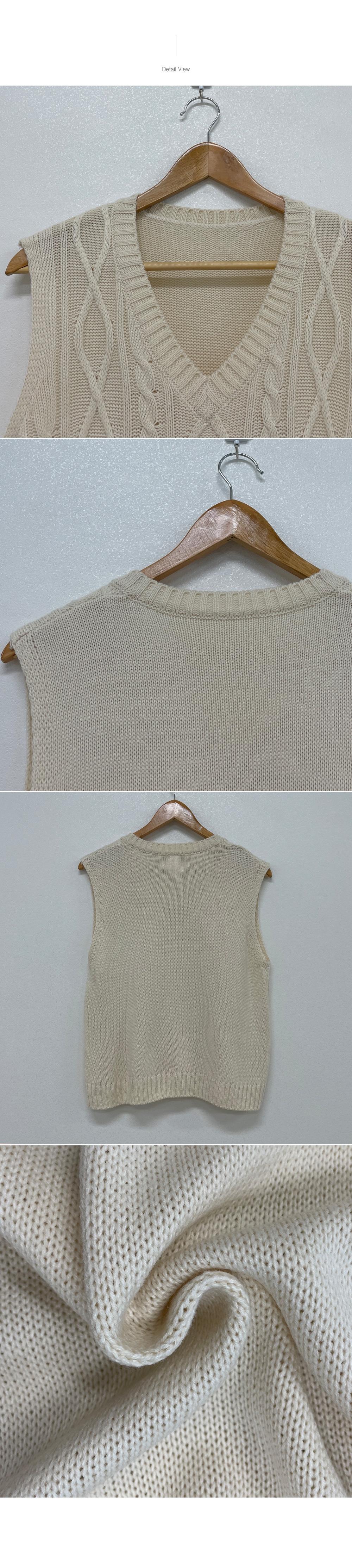 Rye, Layered V-Neck Knitwear Best Vest