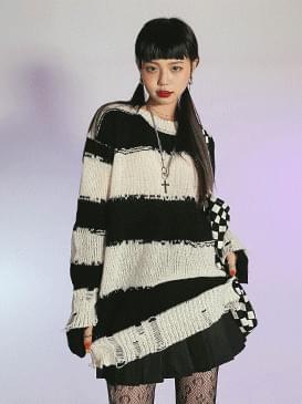 Damage Baum Stripe Knitwear