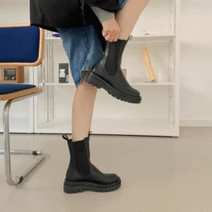 Outsole Middle Chelsea Boots 5cm